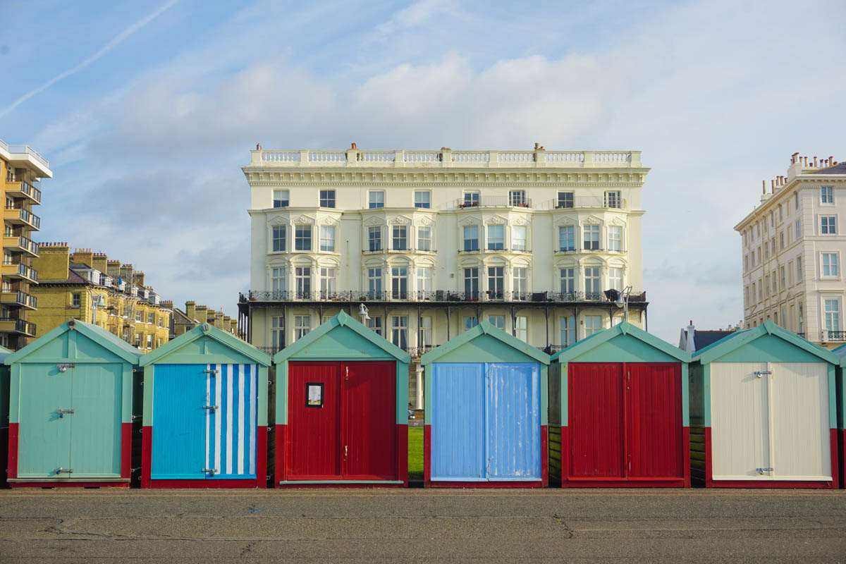 Brighton and Hove beach huts (Picture: Chloe Gunning)