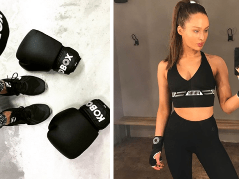 Meet Rozanna Purcell – the model, cook and boxer who swears by the ring for mental relief