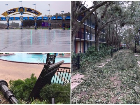 Your inner-child will scream at these depressing photos of Disney World after Irma