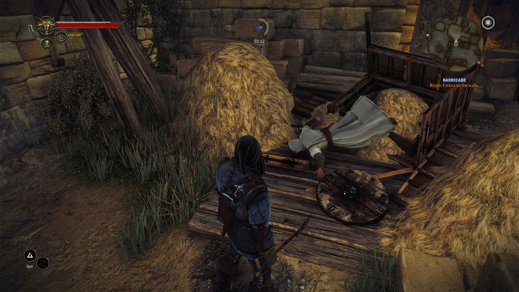 The Witcher 2 - an Easter egg in a haystack