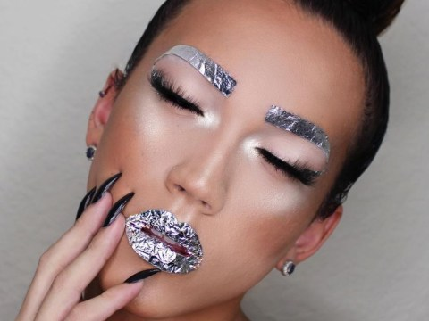 Foil brows: The next hot trend is wrapping your eyebrows up like leftovers