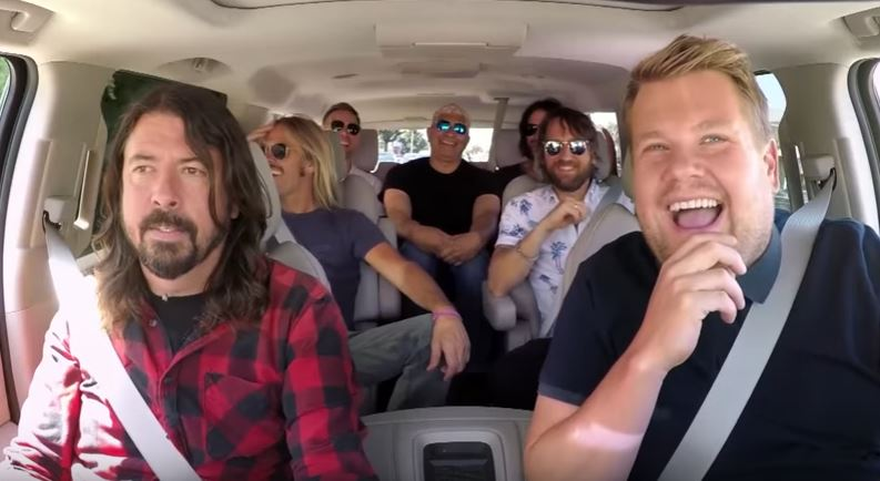 Foo Fighters' Dave Grohl calls Carpool Karaoke 'uncomfortable'