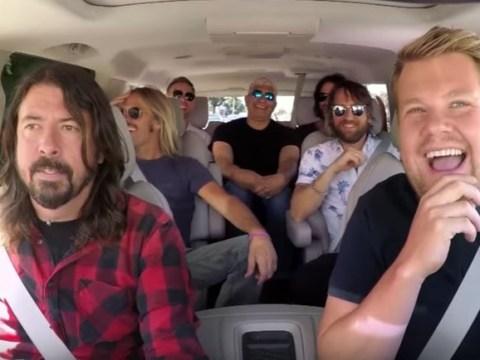 Foo Fighters' Dave Grohl calls Carpool Karaoke 'uncomfortable'