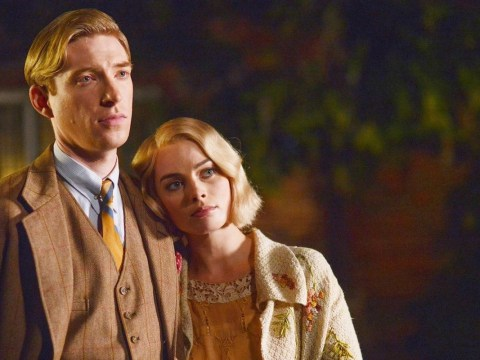 Goodbye Christopher Robin's Domhnall Gleeson and Margot Robbie on the dark side of Winnie-the-Pooh