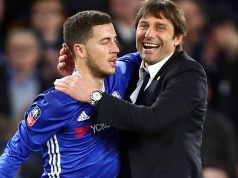 Eden Hazard admits he hates 'pointless' tracking back under Antonio Conte