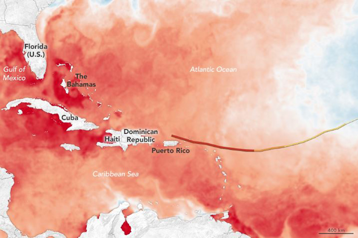 Nasa explains very simply why Hurricane Irma is so violent