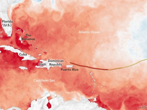 Nasa explains very simply why Hurricane Irma is so violent