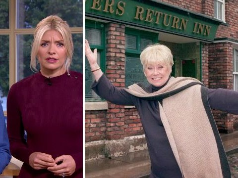 Liz Dawn dies aged 77: Phillip Schofield and Holly Willoughby left heartbroken after finding out the news live on air
