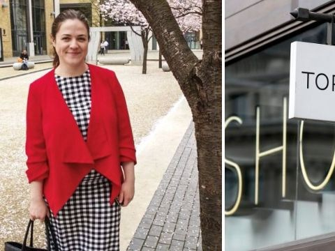 Woman 'fat-shamed' by Topshop worker who laughed when she asked for size 18 top
