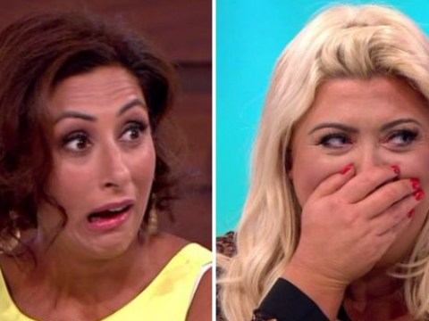 Awkward Loose Women moment sees Saira Khan ask if Gemma Collins is 'into animals'