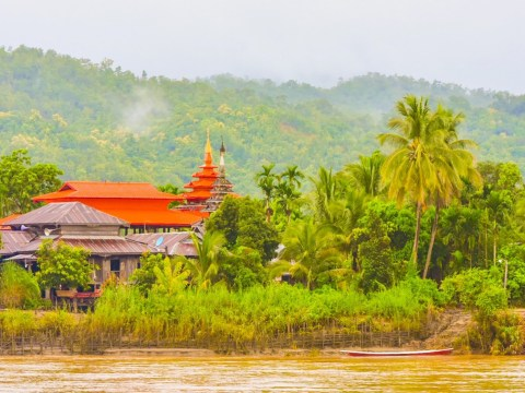 Myanmar river cruise: A journey through the Burmese tropics discovering the mysterious lands of the Naga head-hunting warriors