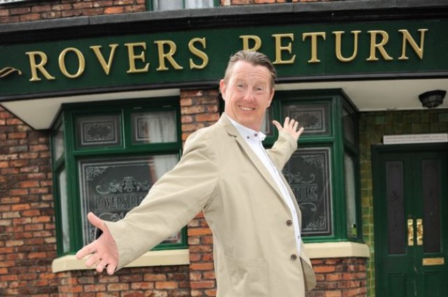 Kevin Kennedy as Curly Watts in Coronation Street