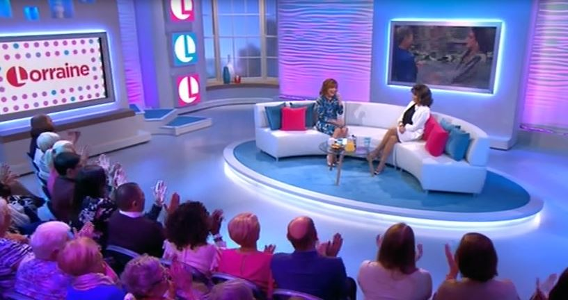 The Lorraine show introduces new audience for Dame Joan Collins and viewers can't take it