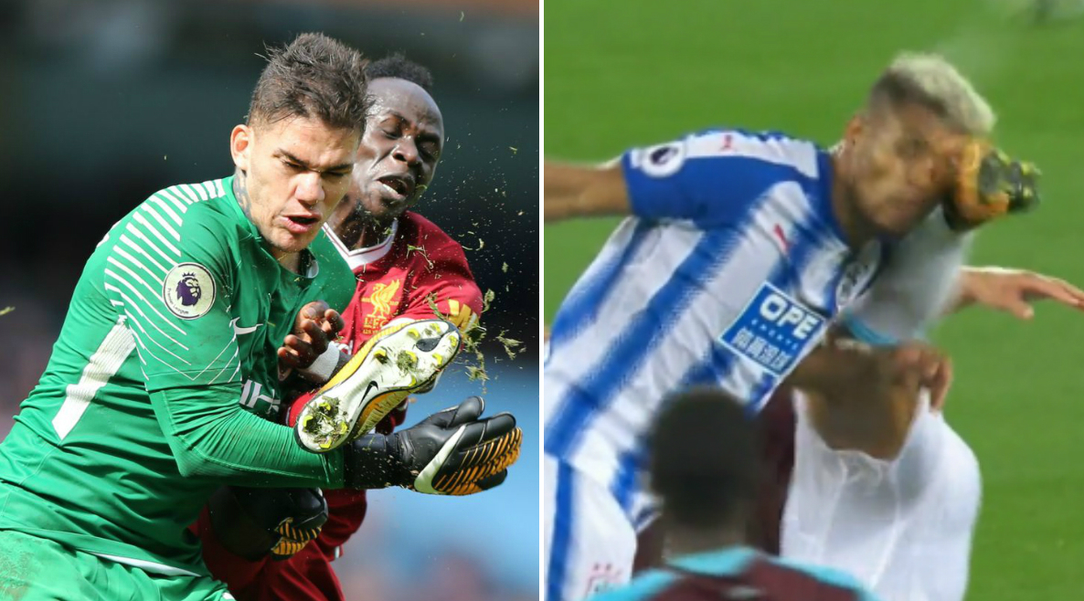 Gary Neville ridicules Sadio Mane red card again after Winston Reid's similar challenge goes unpunished
