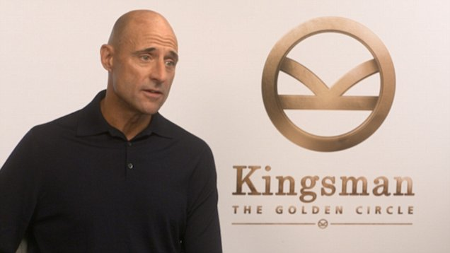 Kingsman star Mark Strong is basically living every man's dream – spending every day with Halle Berry