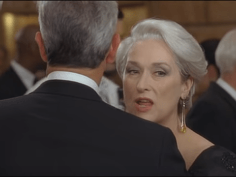 Watch this terrible deleted scene from The Devil Wears Prada and be glad it never made it through