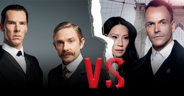 Image result for Sherlock vs. Elementary