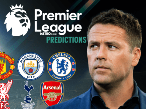 Michael Owen's Premier League predictions, with wins for Arsenal, Chelsea and Manchester United