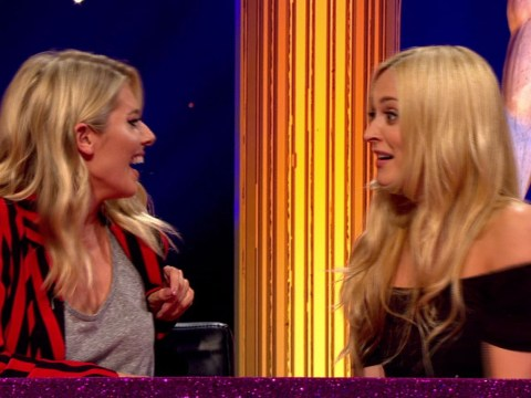 Strictly's Mollie King left red-faced after going commando on Celebrity Juice