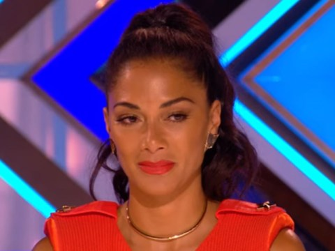 'You jammed up my pump!' Nicole Scherzinger makes a rather rude faux pas on X Factor