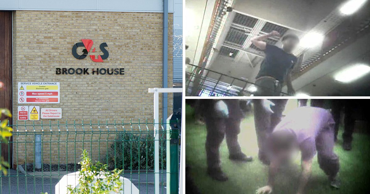 Disturbing footage of G4S guards 'choking and mocking immigrant'