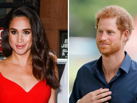 Prince Harry and Megan Markle spark rumours of royal wedding after she admits: 'We're in love'