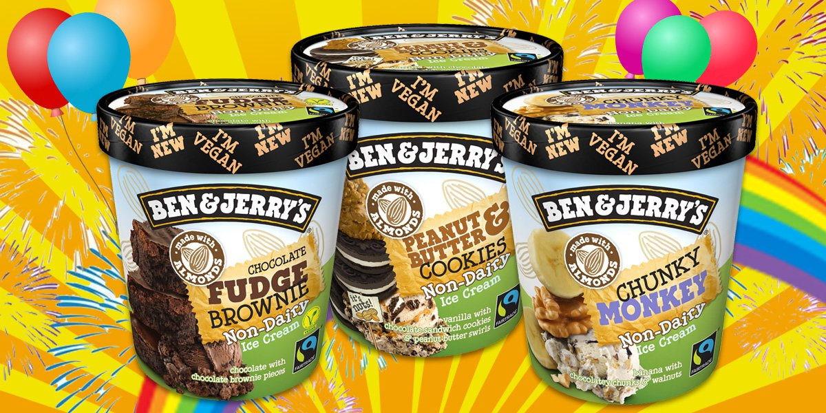 Ben & Jerry's dairy-free ice cream for vegans is finally here in the UK