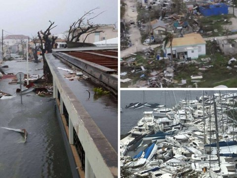 Killer Hurricane Irma wreaks havoc across Caribbean as whole islands are destroyed