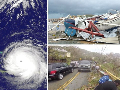 British Virgin Islands will receive £32 million in Hurricane Irma aid relief