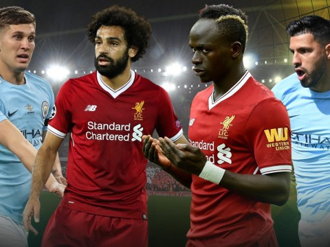 Manchester City and Liverpool combined XI, with Sadio Mane and Sergio Aguero in deadly attack