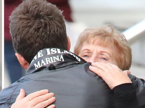 Noel Gallagher shares emotional hug with his mum ahead of We Are Manchester benefit concert
