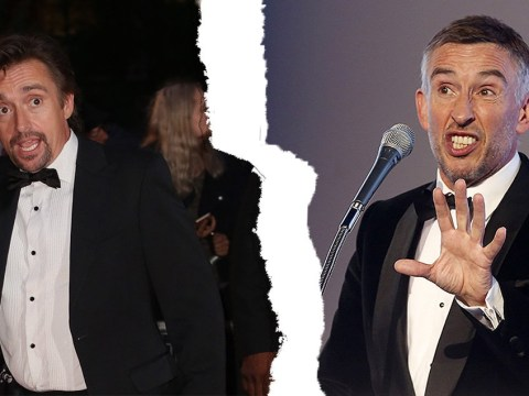 Steve Coogan denies nearly getting punched by Richard Hammond at GQ Awards
