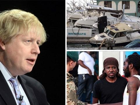 Boris Johnson to visit areas devastated by Hurricane Irma