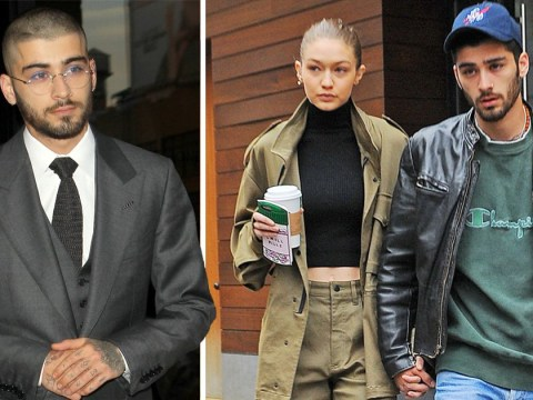 Zayn Malik pledges to 'do right by Gigi Hadid' as he brings specs appeal to the red carpet