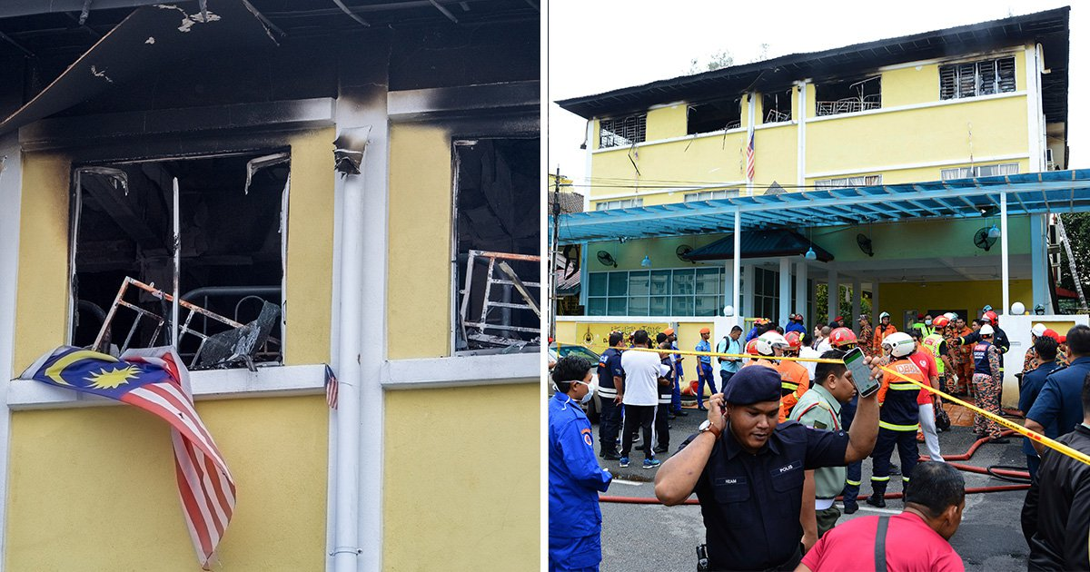 Teenagers set fire to school and killed 21 children 'after being called names'