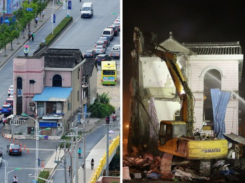 Iconic 'nail house' in Shanghai demolished after 14 years