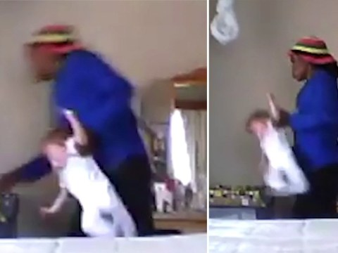 Mum sets up hidden camera and catches nanny violently throwing baby into cot