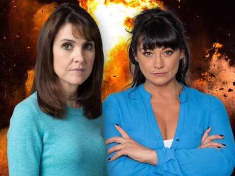 Emmerdale spoilers: Gillian Kearney discusses Moira Dingle baby twist and what Emma Barton does next