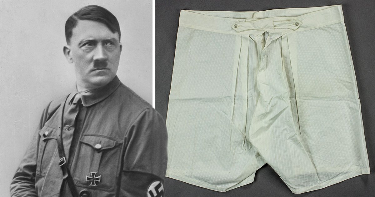 Someone has bought Hitler's gross old underpants for £5,000