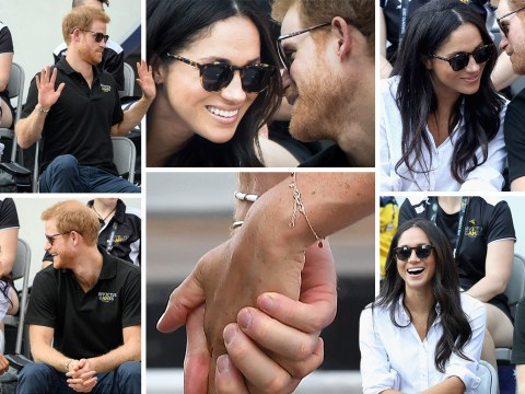 Prince Harry and Meghan Markle have FINALLY been pictured together