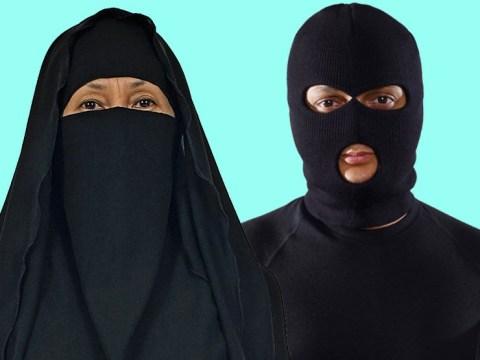 Burka ban rules to include clown masks and balaclavas