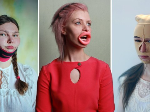 Photo series shows the intense lengths women go to try to meet beauty standards