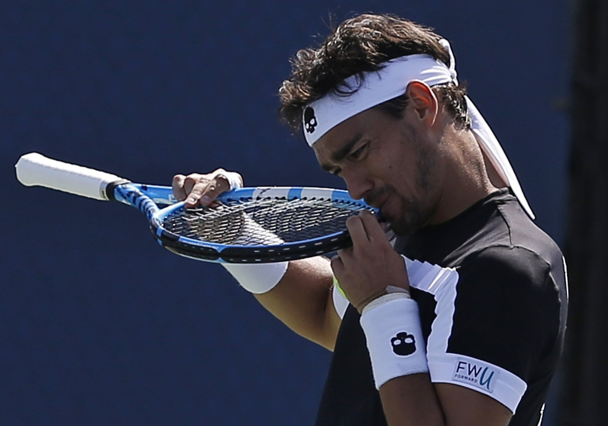 Fabio Fognini kicked out of the US Open after abusing female umpire