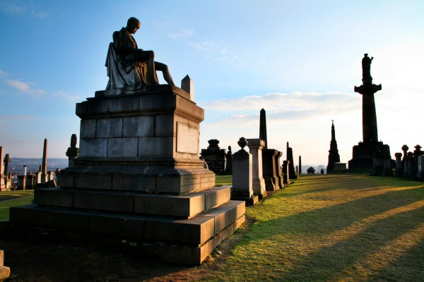 Glasgow Necropolis one of the most beautiful sights in Scotland