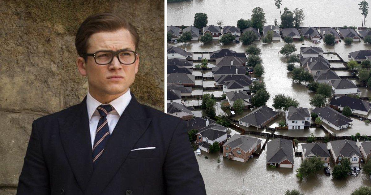 Kingsman: The Golden Circle premiere cancelled following Hurricane Harvey 'devastation'