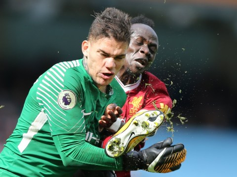 Liverpool's Sadio Mane sends classy message to Man City goalkeeper Ederson after injury