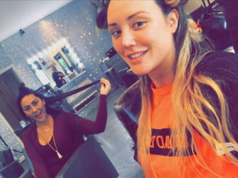 Charlotte Crosby and Sophie Kasaei are back filming a new show together