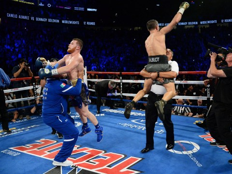 Gennady Golovkin and Canelo Alvarez sold more tickets than Mayweather-McGregor