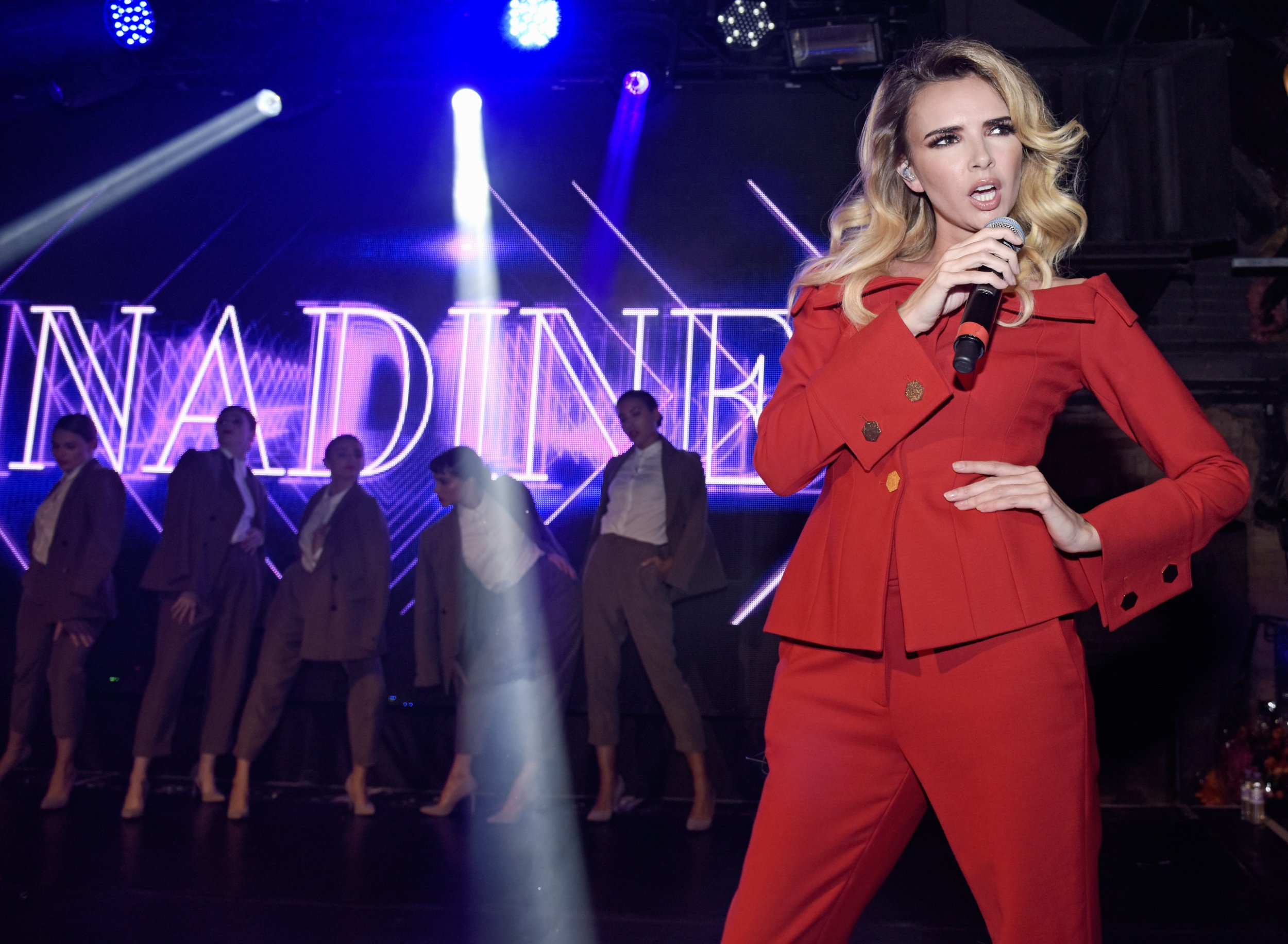 'It makes me want to be sick!' Nadine Coyle can't watch X Factor because it reminds her how terrifying it was auditioning for Girls Aloud