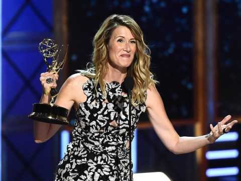 Read Laura Dern's scathing dig at lack of roles for women in full Emmys acceptance speech
